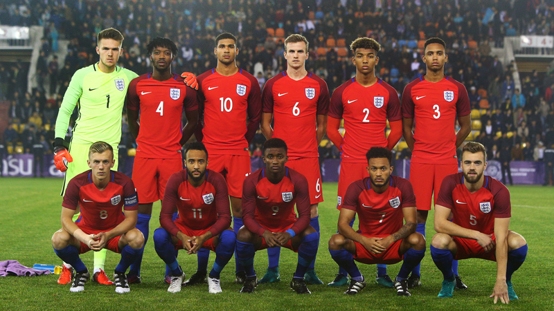 England Under-21s line-up to face Kazakhstan in Aktobe