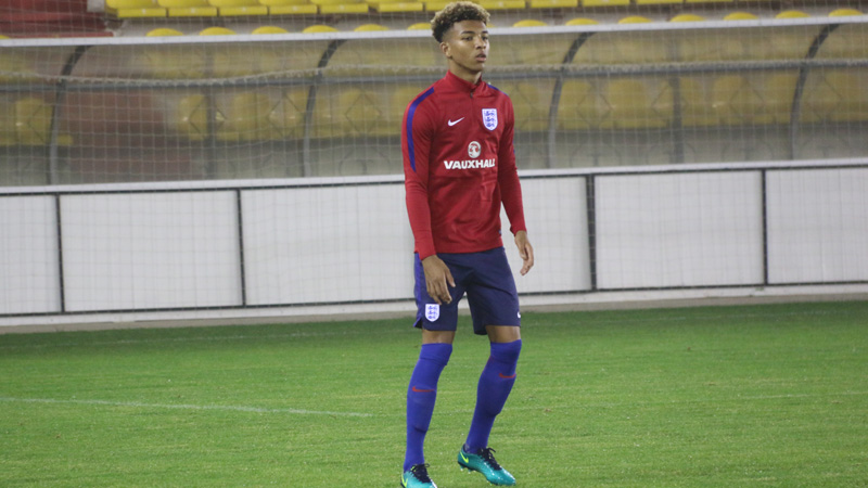 Mason Holgate prepares for his England Under-21s debut in Aktobe, Kazakhstan