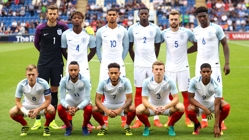 England Under-21s line-up to face Norway in Colchester
