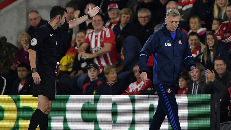 David Moyes hit with £30000 fine for 'slap' remark