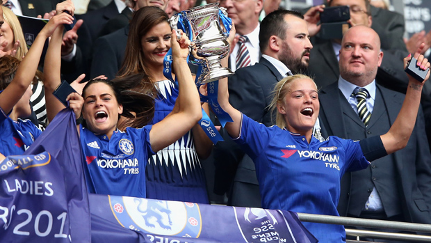Chelsea see off County to win SSE Women's FA Cup Final