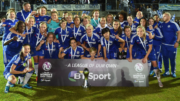 Chelsea are the reigning FA WSL 1 champions
