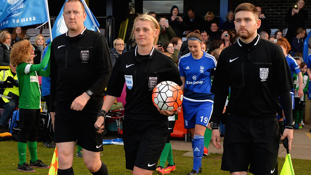 Sarah Garrett has refereed a large number of FA WSL matches