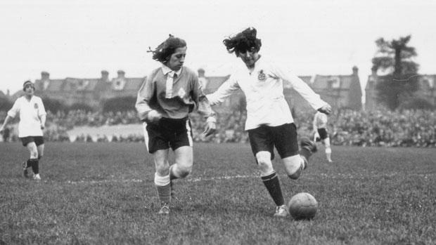 History of women's football
