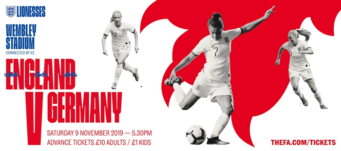 England Women V Germany