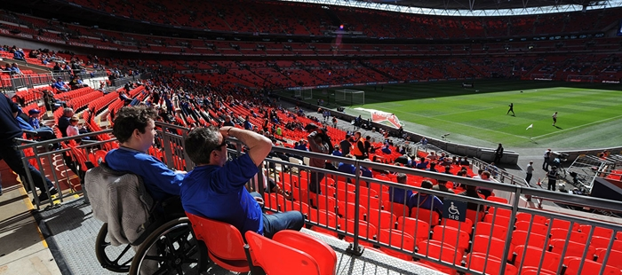 dc24ad2c40 Disabled Access to Wembley