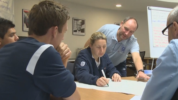 The FA's new Advanced Youth Award aims to develop specialist coaches adept at working with young players