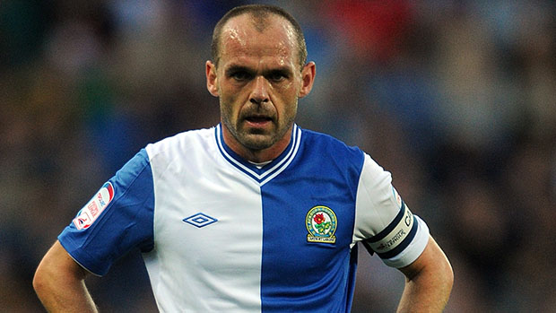 Blackburn Rovers' Danny Murphy