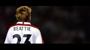 James Beattie in England colours