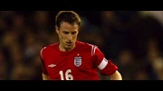 Gareth Southgate playing for England against Sweden last week.