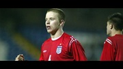 Grant Leabitter in action for the England U19s in last season's European Championship.