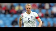 England captain Faye White is back in the squad for the match away to Holland.