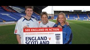 Ryan Taylor, Sue Smith and Annabelle Pryce are urging fans to show their support at Prenton Park.