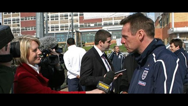 Head Coach Stuart Pearce