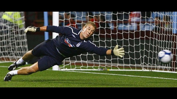England 'keeper Joe Hart