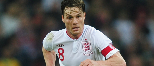 Scott Parker in action against Holland