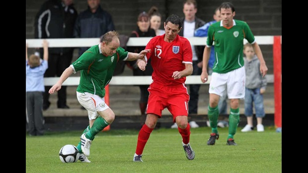 Republic of Ireland v England Amateurs