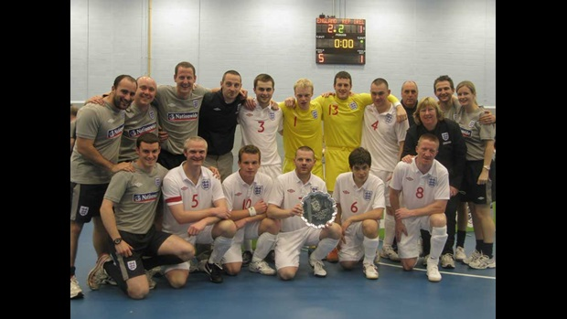 England partially sighted team