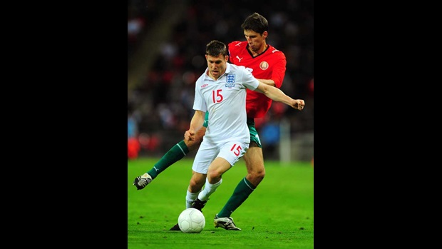 James Milner, England