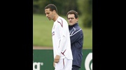 Rio Ferdinand and Fabio Capello.