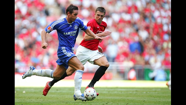 Michael Carrick and Frank Lampard
