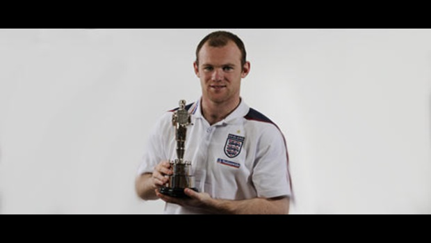 Wayne Rooney wins Player of the Year