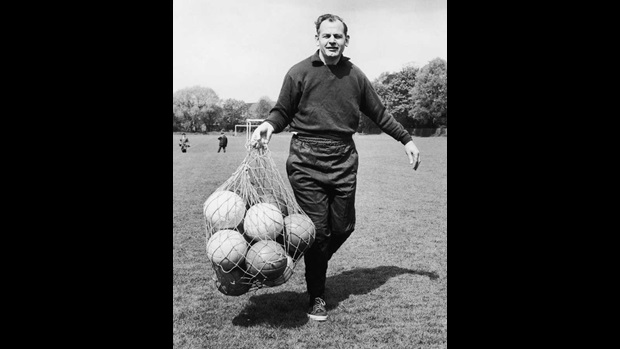 England's first manager Walter Winterbottom