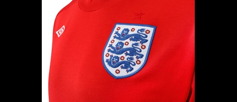 Three Lions on the shirt