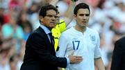 Fabio Capello and Stewart Downing