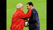 Marcello Lippi and Gianluigi Buffon