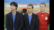 Joachim Loew and Hansi Flick