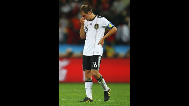 Germany captain Philip Lahm