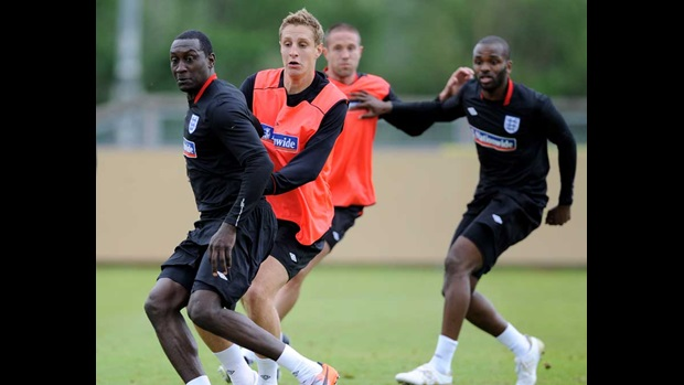 Michael Dawson and Emile Heskey
