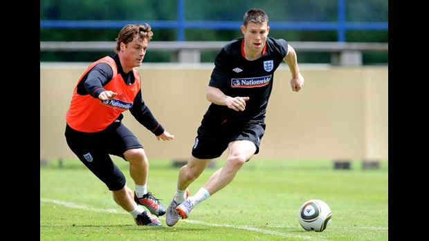 Scott Parker and James Milner