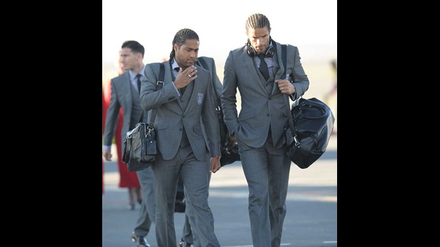 Glen Johnson and David James