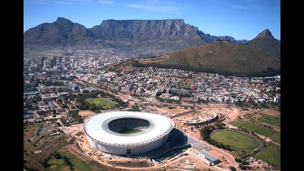 The Green Point Stadium, Cape Town
