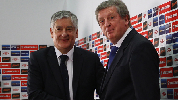 David Bernstein and Roy Hodgson