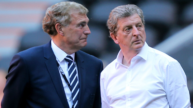 Sir Trevor Brooking and Roy Hodgson