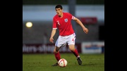 Conor Coady in action for England.