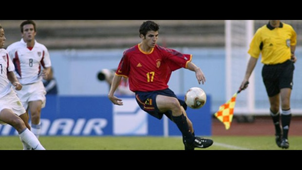 The midfielder starred for Spain in 2004, helping them reach the Final.