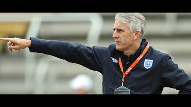 The England U17 Head Coach supervised the 1-1 draw against Holland. Now he is preparing to face Germany.