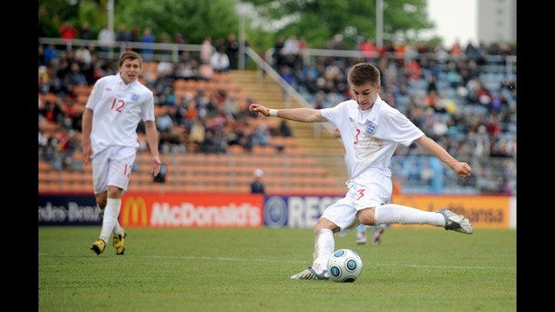 Luke Garbutt has been named in the England squad for the upcoming FA International U17 Tournament.
