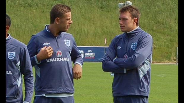 Jordan Henderson and Phil Jones