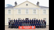 England Under-21s players and staff group