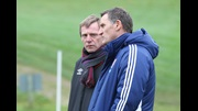 England Under-21 Head Coach Stuart Pearce (left) and Middlesbrough manager Tony Mowbray (picture courtesy of Middlesbrough FC).