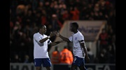 Nathaniel Clyne and Marvin Sordell