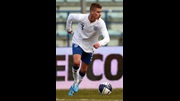 Joe Bennett in action versus Italy