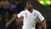 Danny Rose in action for England Under-21s