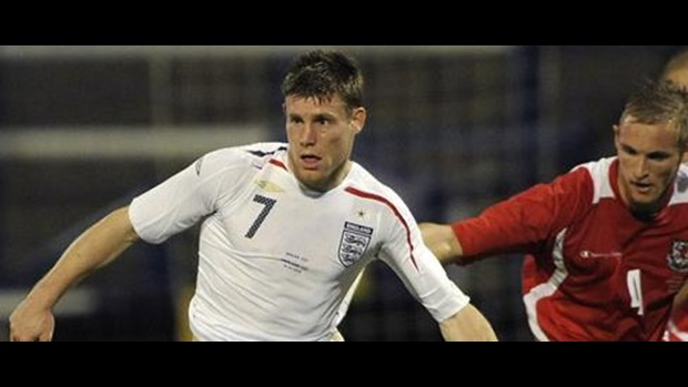 England's James Milner
