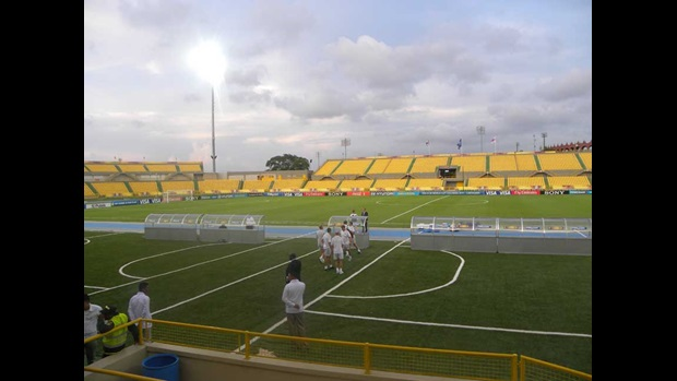 The Estadio Jaime Moron in Cartagena.
